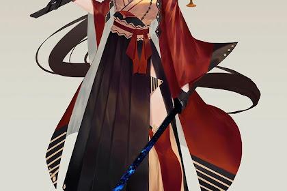 Love, Female Samurai Digital Art 2021