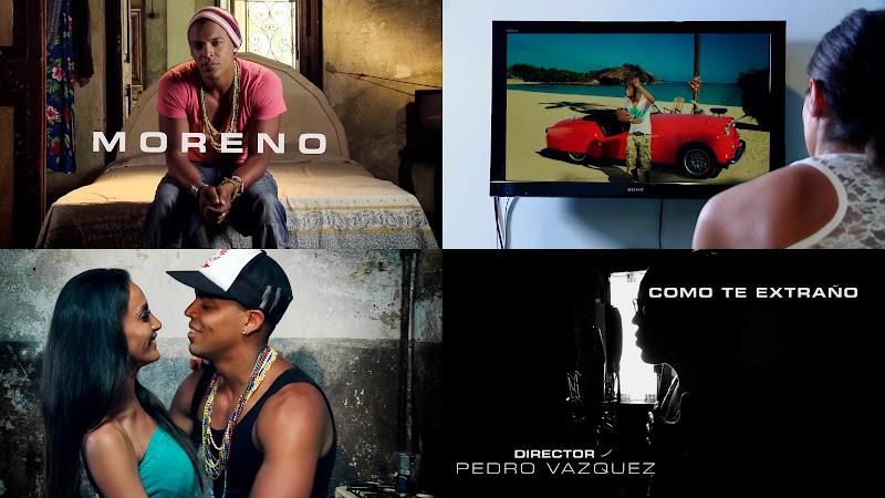 Moreno - ¨Como te extraño¨ - Videoclip - Dirección: Pedro Vázquez. Portal del Vídeo Clip Cubano,