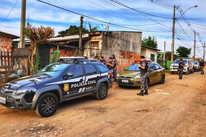Polícia Civil participa da Operação RS Seguro em Cachoeirinha