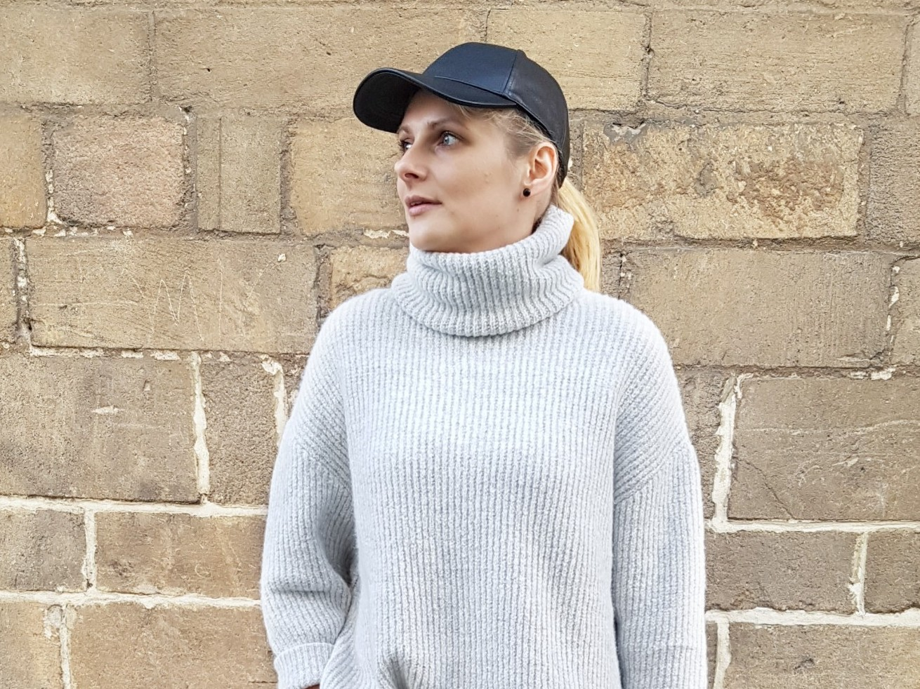 Oversized roll neck sweater czyli bestseller z Zary i strój dnia