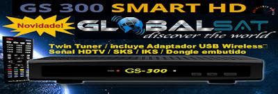 globalsat - ATUALIZAÇAO DA LINHA GLOBALSAT GLOBALSAT%2BGS300%2BHD
