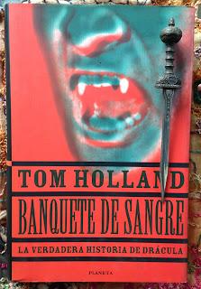 Portada del libro Banquete de sangre, de Tom Holland