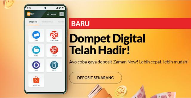 cara deposit 188bet lewat dompet digital