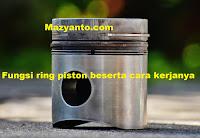 Pengertian, fungsi, dan Cara Kerja Ring Piston