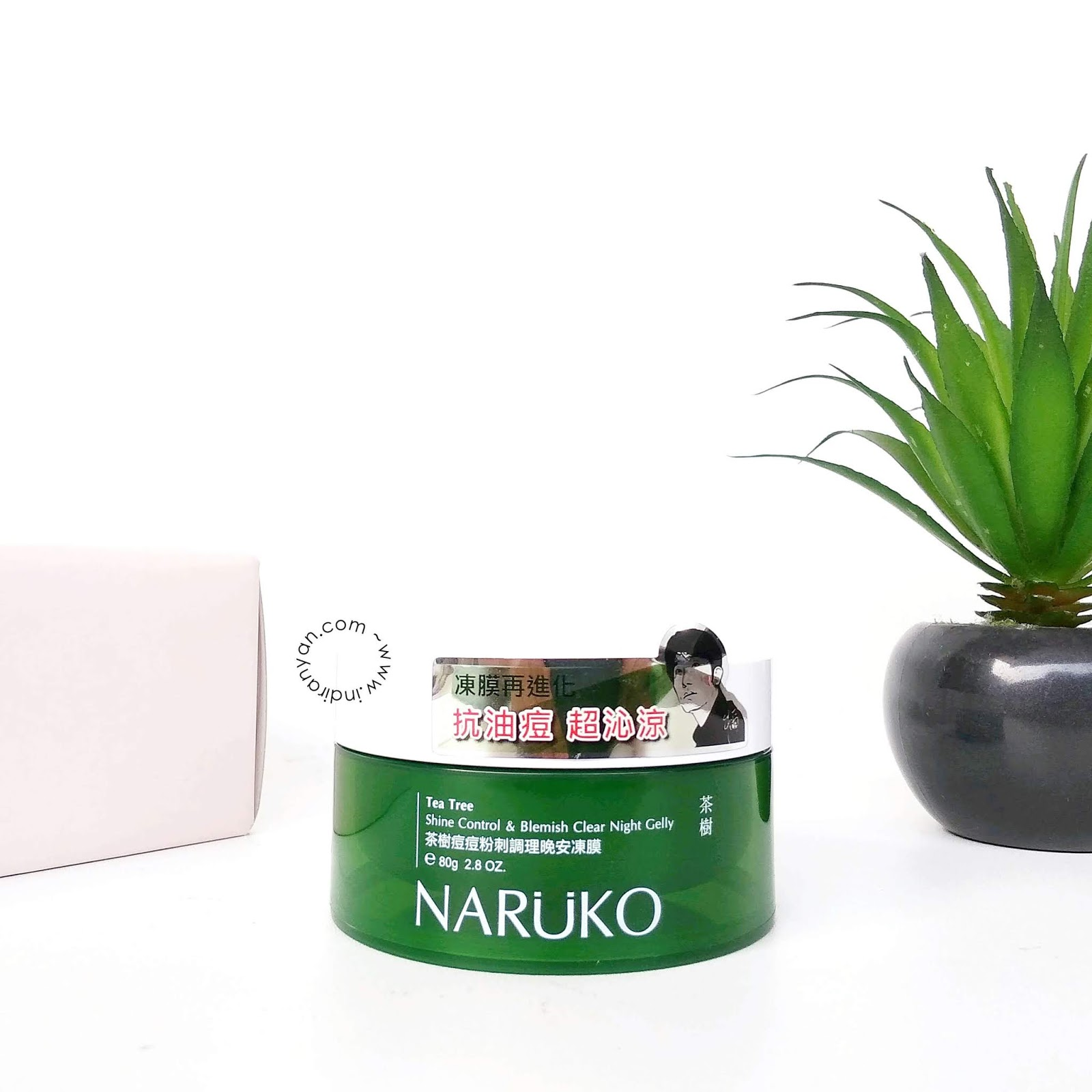 naruko-tea-tre-shine-control-blemish-clear-night-gelly
