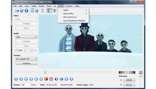Avidemux Software Edit Video Ringan