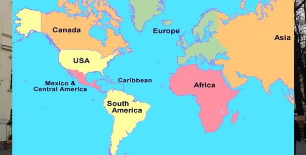 Pembagian Benua Amerika