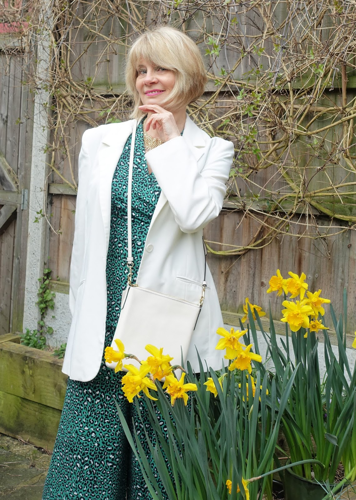 Over 50s style blog Is This Mutton? on the figure flattering benefits of co-ordinates