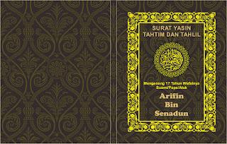 Desain Cover YASIN PSD
