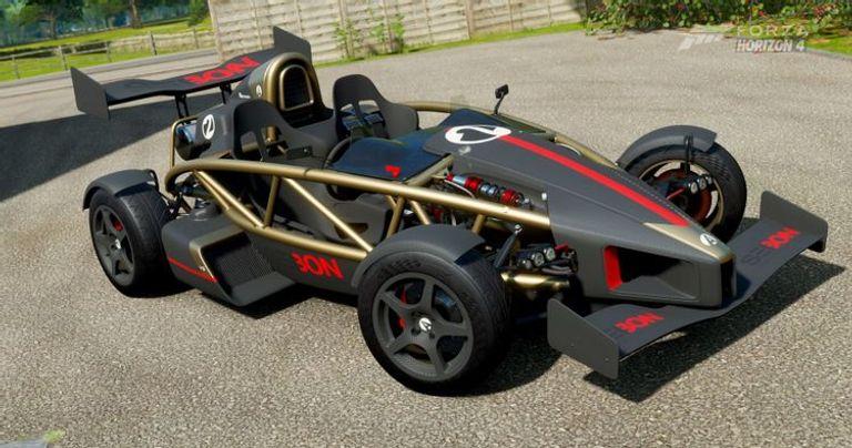 طراز Ariel Atom V8، الذي طرح بوزن 1212.54 ألف رطل
