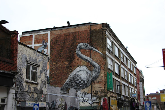 street art roa londres london