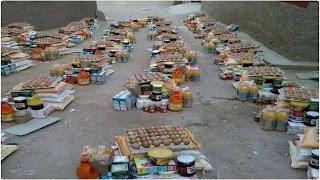 الامم المتحدة تنطلق في توزيع وصولات غذاء على عائلات فقيرة في أرياف تونس