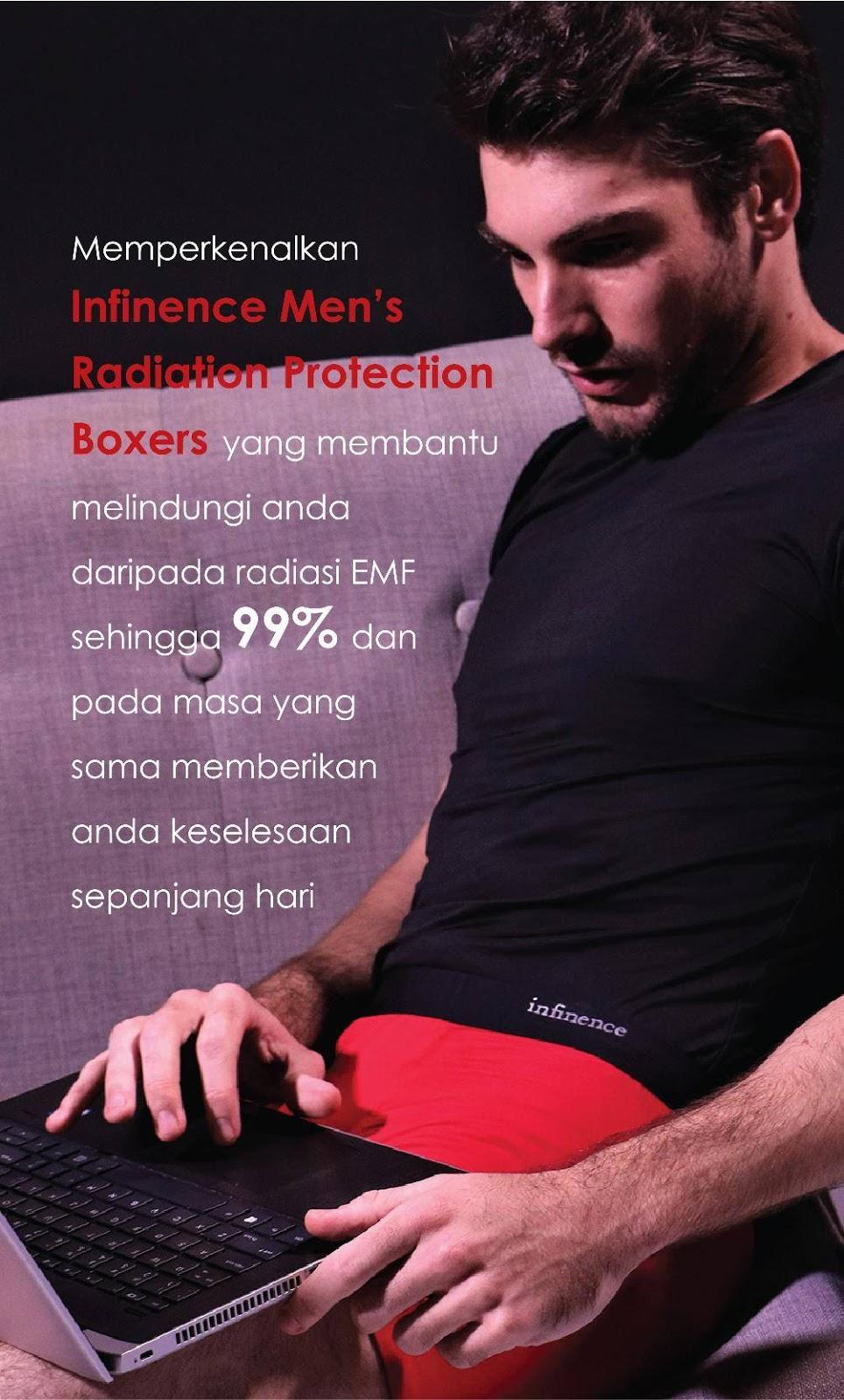 Boxer halang radiasi