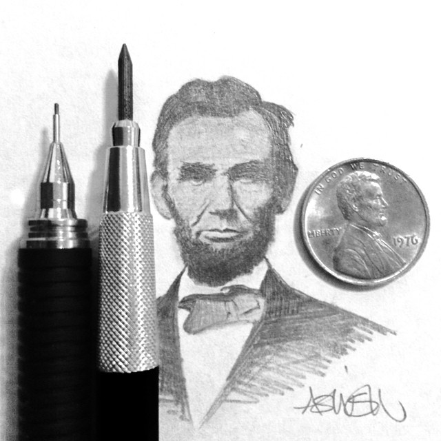 18-Abraham-Lincoln-Hash-Patel-ilovehash-Celebrity-Detailed-Micro-Miniature-Drawings-www-designstack-co