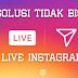 Live Video di Instagram tidak bisa, Ini penyebanya!