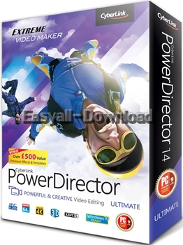 CyberLink PowerDirector Ultimate 15.0.2509.0 [Full Crack] โปรแกรมตัดต่อวิดีโอประสิทธิภาพสูง