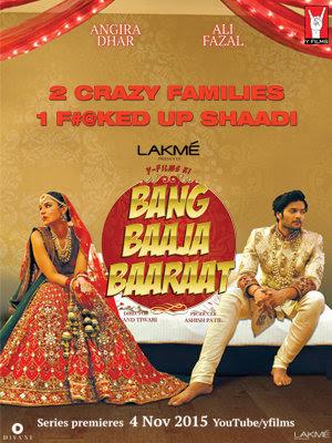 Poster Of Hindi Movie Bang Baaja Baaraat 2015 Full HD Movie Free Download 720P Watch Online