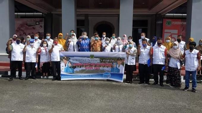 Lomba Desa dan Kelurahan Di Pinrang Di Mulai, 31 Tim Penilai Dilibatkan