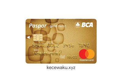 Kartu ATM BCA Gold