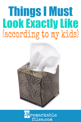 Life with kids, you are ridiculous. It's so funny how my children look at me and see a pack mule who wants to carry all their stuff, or a Kleenex… I guess little things like that keep a mom laughing. #parentinghumor #momtruths #kids #funny #laughing #unremarkablefiles