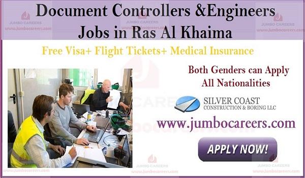 Construction company jobs in UAE, UAE latest job openings,