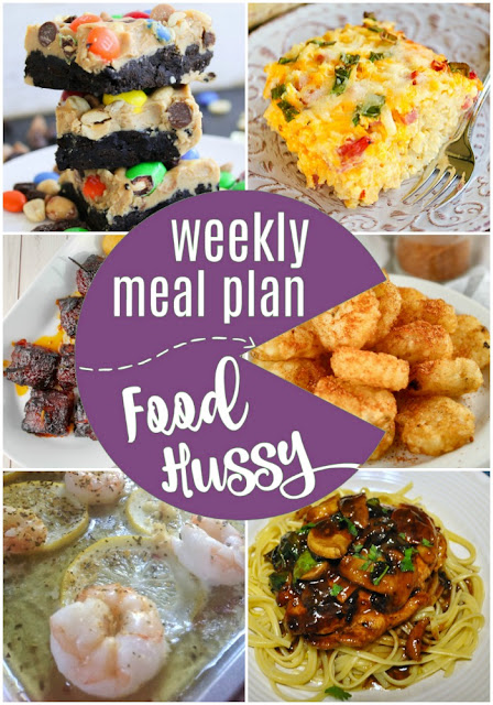 "Weekly Meal Plan - you'll never need to ask ""what's for dinner""! Just pin this page and any night of the week you can find something delicious!!!"