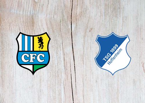 Chemnitzer FC vs Hoffenheim -Highlights 13 September 2020