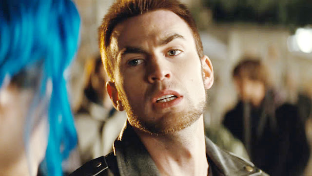 Chris Evans en acteur arrogant dans Scott Pilgrim (2010)
