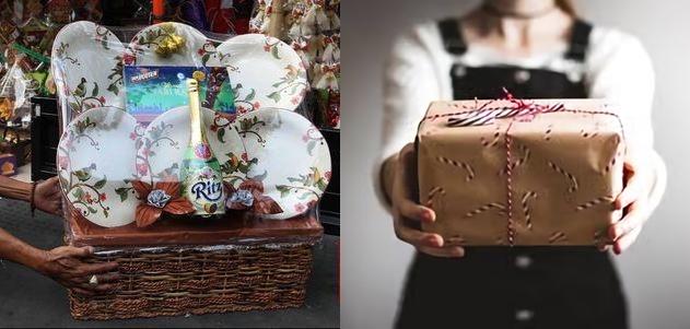 Perbedaan antara parcel dan hampers