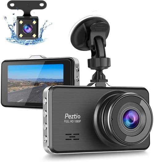 Peztio Full HD Dash Cam Camera for Cars Review