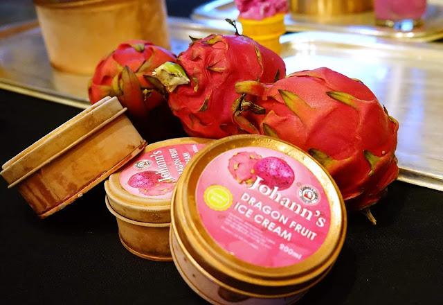 Johann's Dragon Fruit Ice Cream, looking for Distributors