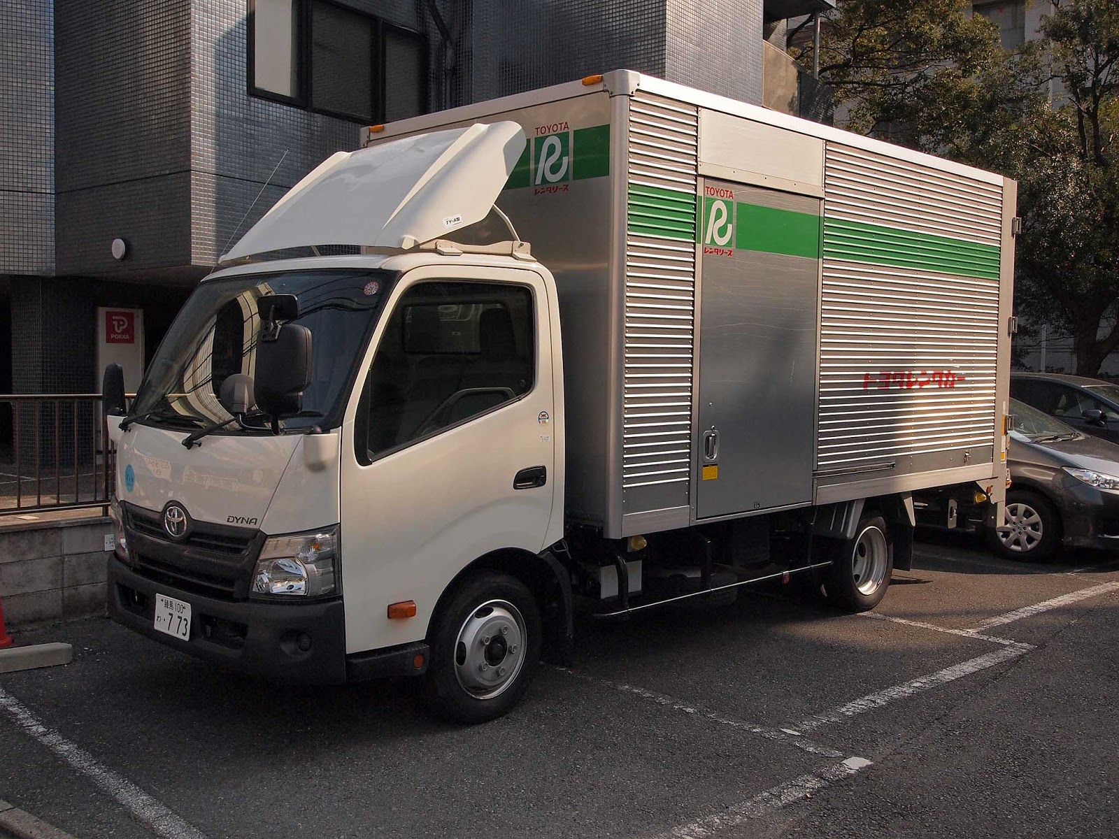 The Toyota Dyna is a medium-duty cab over truck for commercial use. In the  Japanese market, the Dyna is sold alongside its twin called theToyoace.