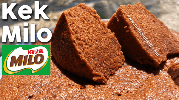 resepi kek milo bakar kukus