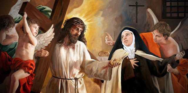Jesus e Santa Teresa d'Ávila