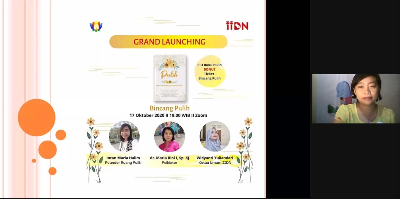 grand launching buku pulih