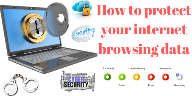 How to protect your internet browsing data