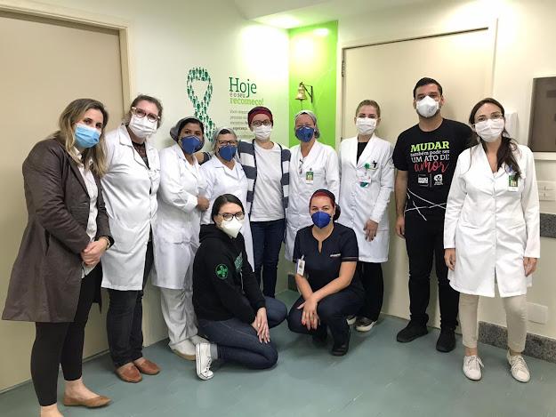 Equipe Oncologia Hospital Unimed Petrópolis