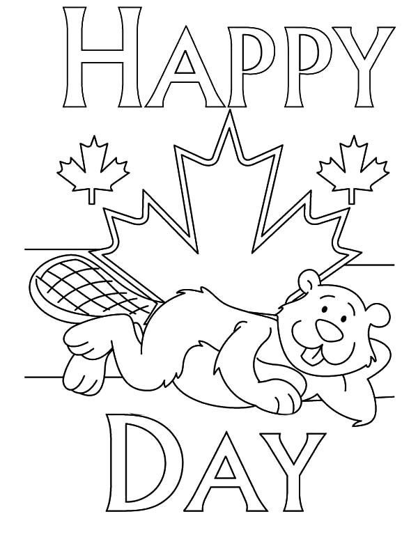 happy canada day 2020 drawing