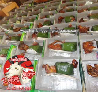 Pesan antar nasi kotak di Lembang