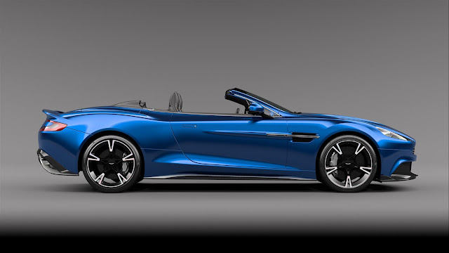 Aston Martin Vanquish S Volante side look