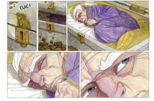 BD Le Triskel volé - le réveil de Griam le Pur