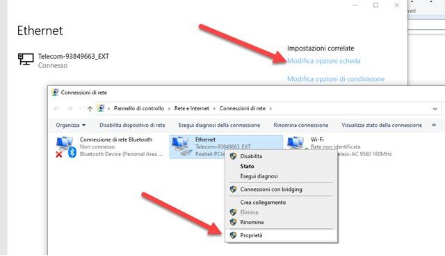 opzioni-scheda-connessione-internet