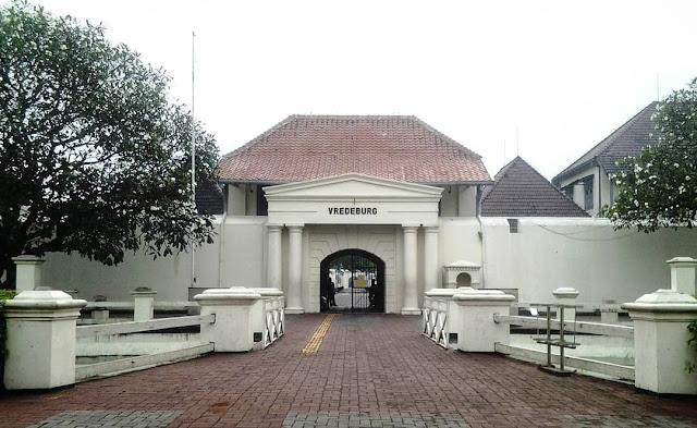 fort vredeburg is tourist destination in jogja