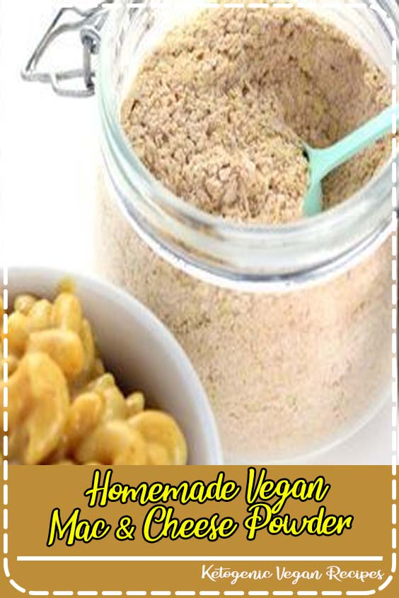 But feel free to multiply or reduce the recipe as you see fit Homemade Vegan Mac & Cheese Powder