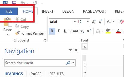 Cara Mengunci Dokumen File Miscrosoft Word dengan Password
