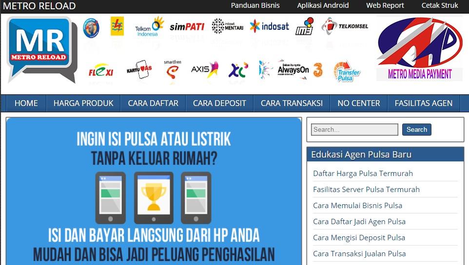 web pemasaran - web pulsa gratis - blog pulsa - www.servermetroreload.com