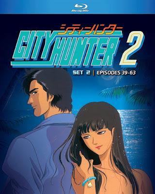 City Hunter Season 2 Set 2 Bluray