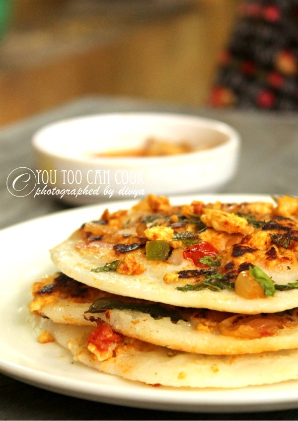 How to make paneer uttapam