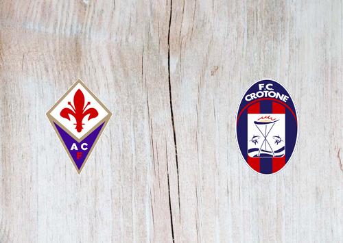 Fiorentina vs Crotone -Highlights 23 January 2021