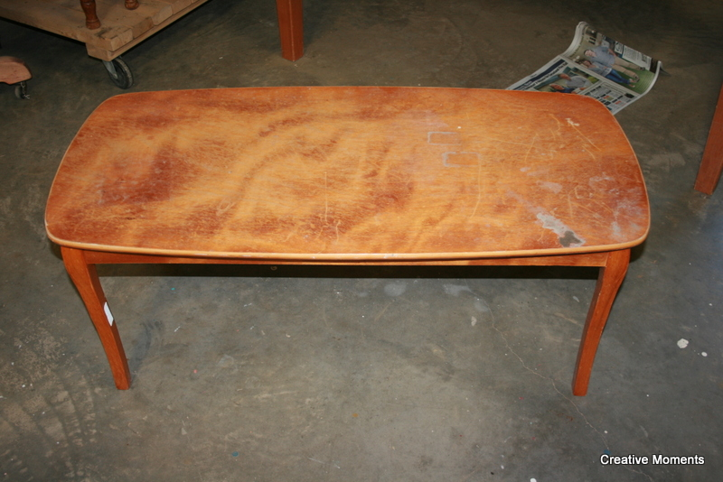 Old Fashioned Milk Paint Cosmic Coffee Table